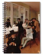 A Cotton Office In New Orleans Spiral Notebook
