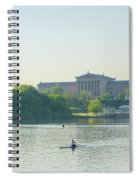 A Day On The River - Philadelphia Spiral Notebook