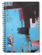 A False Painting Spiral Notebook