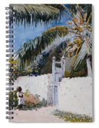 A Garden In Nassau Spiral Notebook
