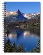 A Glacier Lake Spiral Notebook
