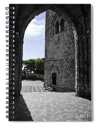 A Gothic View Spiral Notebook
