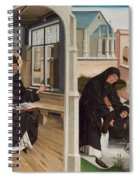 A Miracle Of Saint Benedict Spiral Notebook