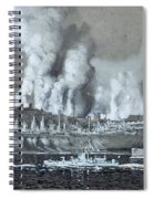 A Pair Of Industrial River Spiral Notebook