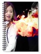 A Pink Spiral Notebook