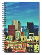 A Slice Of Los Angeles Spiral Notebook