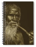 A Smoke Before Conversation Spiral Notebook