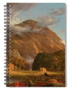 A View Of The Mountain Pass Called The Notch Of The White Mountains, Crawford Notch Spiral Notebook