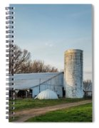 Abandoned Countryside Farm In The Afternoon Spiral Notebook