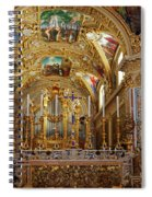 Abbey Of Montecassino Altar Spiral Notebook