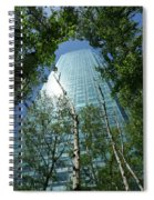 Above The Tree Tops Spiral Notebook