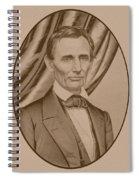 Abraham Lincoln Circa 1860  Spiral Notebook