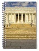 Abraham Lincoln Memorial  Spiral Notebook