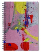 Abstract 10061 Spiral Notebook