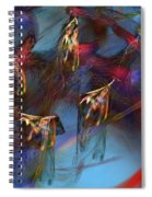 Abstract 102910 Spiral Notebook