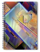 Abstract  145 Spiral Notebook