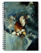 Abstract 780707 Spiral Notebook