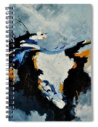 Abstract 880150 Spiral Notebook