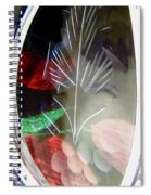 Abstract 9005 Spiral Notebook
