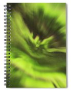 Abstract Aurora Spiral Notebook