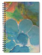 Abstract Close Up 10 Spiral Notebook