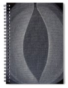 Abstract Flower  Spiral Notebook