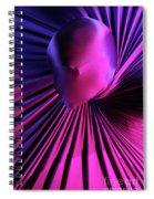 Abstract Human Head Spiral Notebook