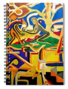 Abstract Number Nine  Spiral Notebook