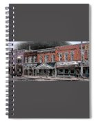Abstract Town Spiral Notebook