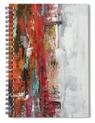 Abstraction Spiral Notebook