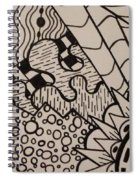 Aceo Zentangle Abstract Design Spiral Notebook