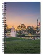 Adelaide Sunset Spiral Notebook