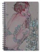 Adeline Spiral Notebook