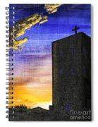 Adobe Church Spiral Notebook