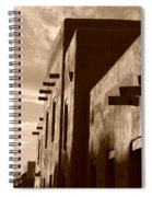 Adobe Sunset Spiral Notebook
