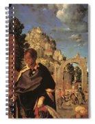 Adoration Fragment  Spiral Notebook