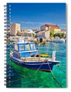 Adriatic Town Of Razanac Colorful Waterfront Spiral Notebook