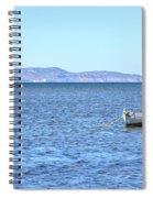Aegadian Islands - Sicily Spiral Notebook