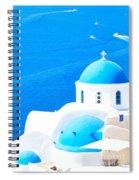 Aegean Blue Spiral Notebook