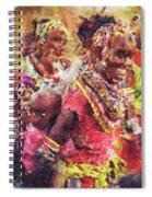 African Woman Spiral Notebook
