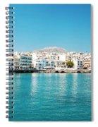 Agios Nikolaos Panorama Spiral Notebook