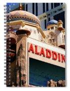 Aladdin Hotel Casino Spiral Notebook