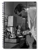 Albert Ghiorso, American Nuclear Chemist Spiral Notebook