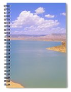 Albiquiu Reservoir, Route 84, New Mexico Spiral Notebook