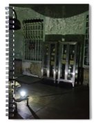 Alcatraz Federal Penitentiary Spiral Notebook