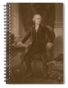 Alexander Hamilton - Two Spiral Notebook