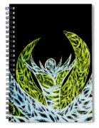 Alien Flower Spiral Notebook