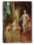 Allegory Of Painting Spiral Notebook