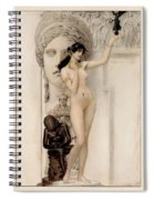 Allegory Of Sculpture Spiral Notebook
