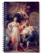 Allegory Of The City Of Madrid Spiral Notebook